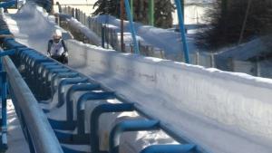 CTV National News: Calgary's sliding track