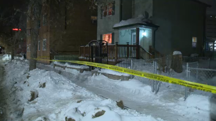 Winnipeg police are still on the scene investigating an incident that took place in the 700 block of McGee Street on March 3.