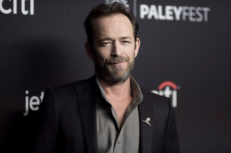 Luke Perry attends the 35th Annual Paleyfest