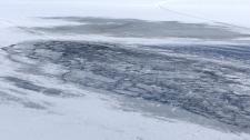 Muskoka Lake ice