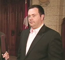 Immigration Minister Jason Kenney speaks on CTV News Channel from Ottawa, Wednesday, July 29, 2009.