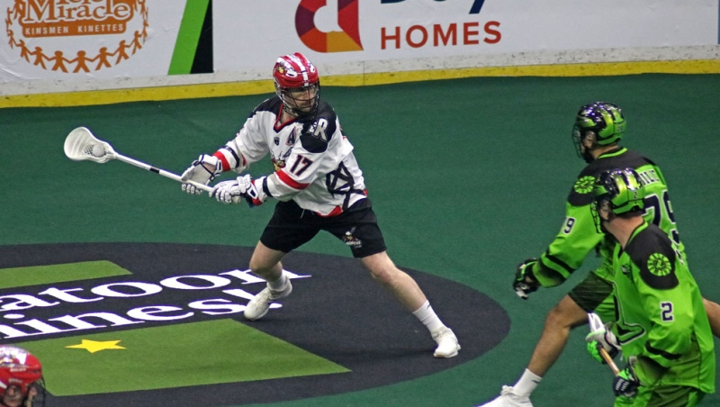 The remainder of the 2019-2020 National Lacrosse League schedule has been cancelled due to COVID-19. (File photo)