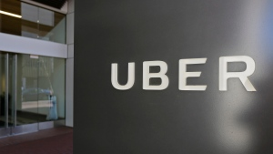 This March 1, 2017, file photo shows an exterior view of the headquarters of Uber in San Francisco. THE CANADIAN PRESS/AP/Eric Risberg, File)