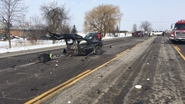 Man, 29, dead after multi-vehicle crash in Caledon | CTV