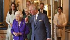 Prince Charles' reception at Buckingham Palace