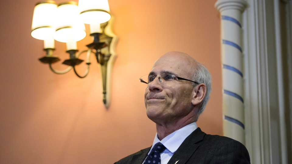 Clerk of the Privy Council Michael Wernick attend a swearing in ceremony at Rideau Hall in Ottawa on Friday, March 1, 2019. THE CANADIAN PRESS/Sean Kilpatrick