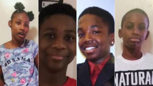 Police looking for 4 children reported missing in Toronto