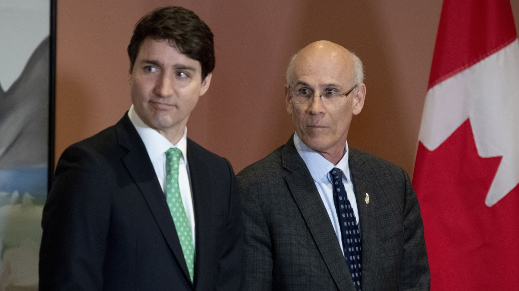 Trudeau and Wernick