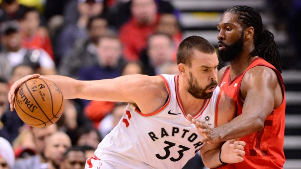 The Houston Rockets rallied past the Toronto Raptors