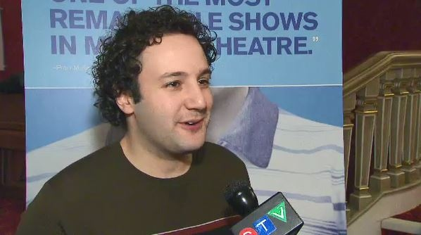 Sudbury's Alessandro Costantini says being cast in Toronto's production of the Broadway-hit musical Dear Evan Hansen is a 'dream come true.' (Andria Case/CTV News)