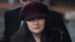 Huawei chief financial officer Meng Wanzhou is shown in Vancouver, on Tuesday January 29, 2019. (THE CANADIAN PRESS/Darryl Dyck)