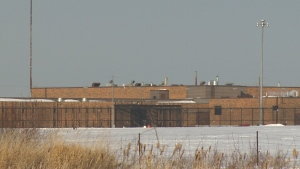 Maximum security prison, Edmonton Institution.