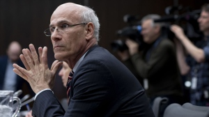 Then-Clerk of the Privy Council Michael Wernick prepares to appear before the Standing Committee on Justice and Human Rights regarding the SNC Lavalin affair, on Parliament Hill in Ottawa on Wednesday, March 6, 2019. THE CANADIAN PRESS/Justin Tang