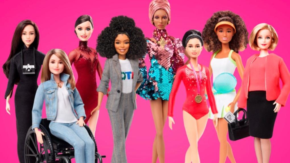 Tessa Virtue's Barbie doll