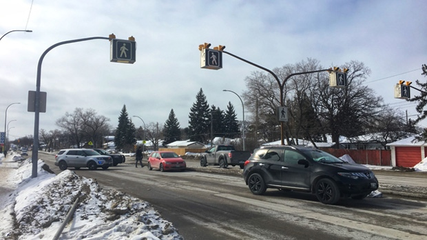 Henderson Highway and Mossdale Avenue