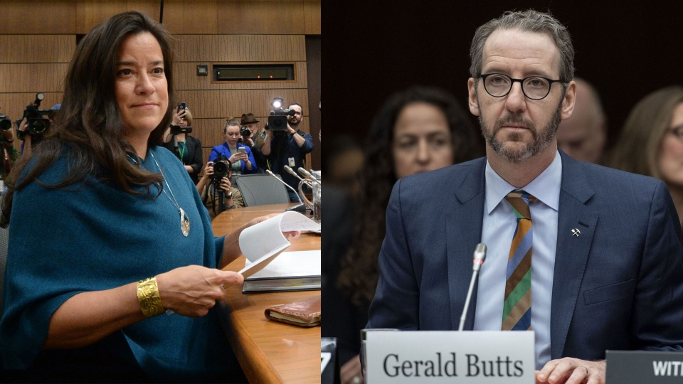 Jody Wilson-Raybould and Gerald Butts