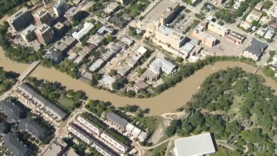 The province has announced funding for another two critical flood mitigation projects in the City of Calgary: a downtown flood barrier and a storm water separation project.