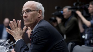 Clerk of the Privy Council Michael Wernick prepares to appear before the Standing Committee on Justice and Human Rights regarding the SNC Lavalin affair, on Parliament Hill in Ottawa on Wednesday, March 6, 2019. THE CANADIAN PRESS/Justin Tang