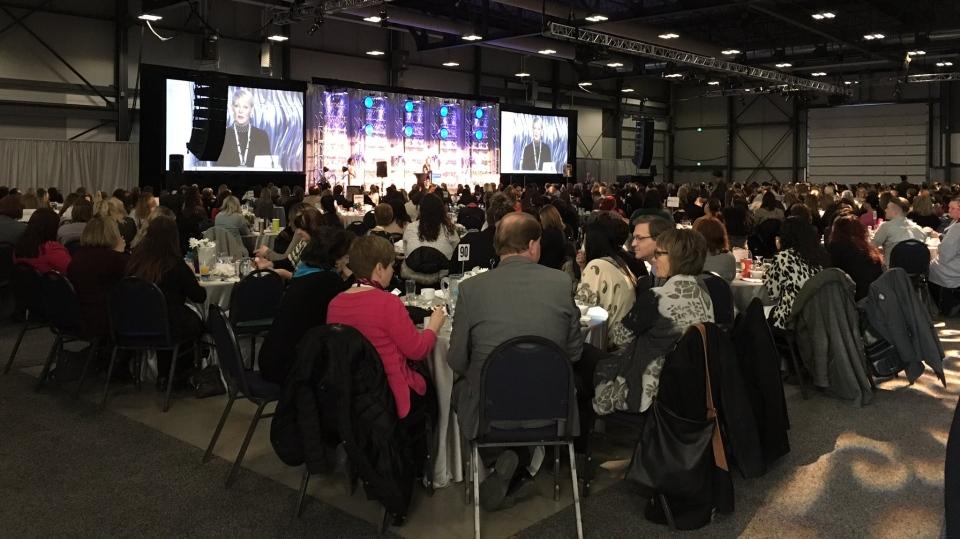 The University of Regina Inspiring Leadership Forum. (Taylor Rattray/CTV Regina)