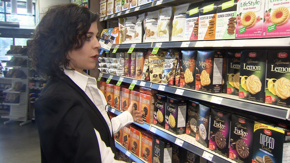 Nutritionist Alyssa Bauman is concerned by all the ultra-processed food we eat.