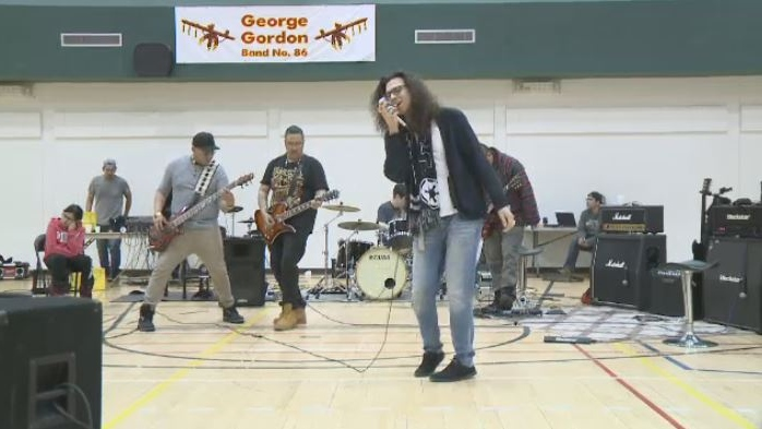 The Reckless Famous perform at George Gordon Education Centre.