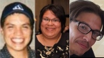 Michael Jamieson, Melissa Miller and Alan Porter of Six Nations, Ont., were found dead in a pickup truck in November 2018. (OPP)