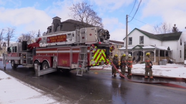 Fire In Listowel Closes Main Street For Several Hours Ctv News