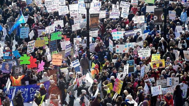 autism protest