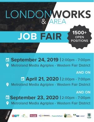 London and Area Works Job Fair 2019