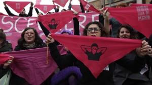 International Women's Day demonstration in Rome