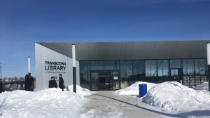 CTV photojournalist Gary Robson captured photos of the opening Thursday of the new $6.5 million library.