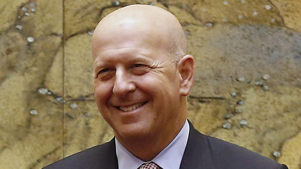 Goldman Sachs' David Solomon