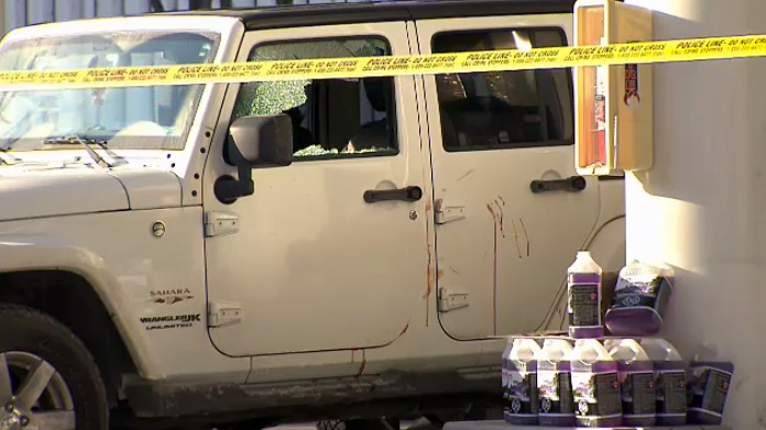 Toronto police are investigating a shooting at a gas station in Lytton Park on March 8, 2019.