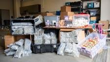 Police seize cannabis edibles
