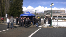 Correctional officers protest