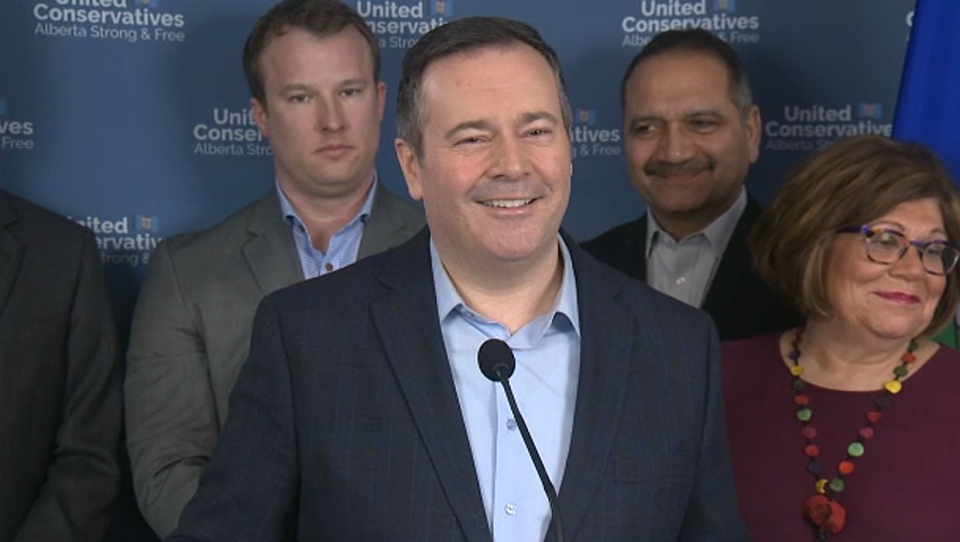 Jason Kenney, during a policy announcement on Thursday, made some comments that some critics say implied that he and the UCP don't think female politicians are as skilled as men.
