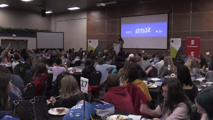 The university held the 8th annual Girls 2019 Conference, a gathering for young women across our province to partake in workshops and activities helping build their confidence, leadership skills and lots more.