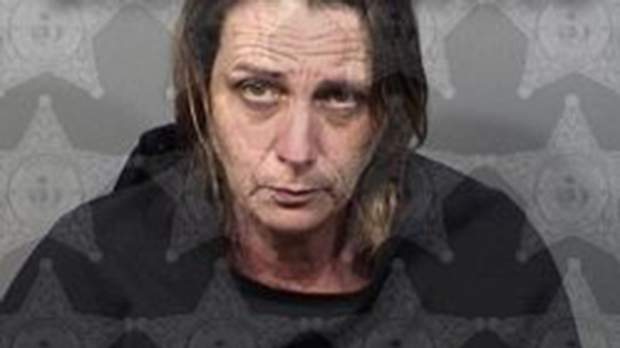Lorie Morin, 47, has been charged with attempted murder and attempted battery. Police say she shot her boyfriend during an argument about the volume of his snoring. (Brevard County Sheriff's Office)