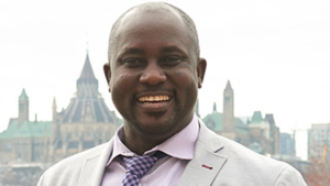 """Prof. Pius Adesanmi described as a """"towering figure in African and post-colonial scholarship,"""" was among the 18 Canadians killed in Sunday's crash of an Ethiopian Airlines jet. (Carleton University)"""