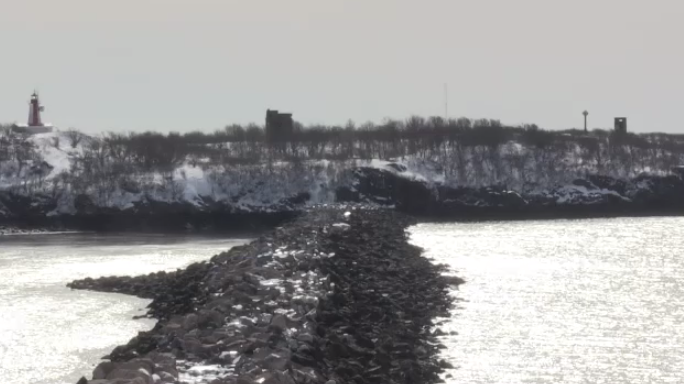 The only way to get to the island today is over the breakwater, or by boat. In 2016, cost estimates released indicated it would take between 30, to 40 million dollars to transform the breakwater into an access route.