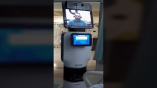 Robot doctor tells man he's dying