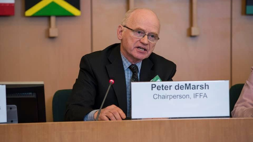 New Brunswick's Peter DeMarsh has been identified as one of the 18 Canadians who died March 10, 2019, when an Ethiopian Airlines plane crashed shortly after takeoff, killing all 157 aboard. (Family Forest Nepal/Facebook)