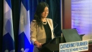 MNA Catherine Fournier announced on March 11, 2019 that she was leaving the Parti Quebecois because she felt the party was not doing enough to promote Quebec's independence.