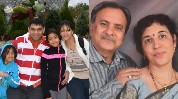 Six members of the same Brampton family have been identified as some of the 18 Canadians killed in a plane crash in Ethiopia. (Photos provided by family).