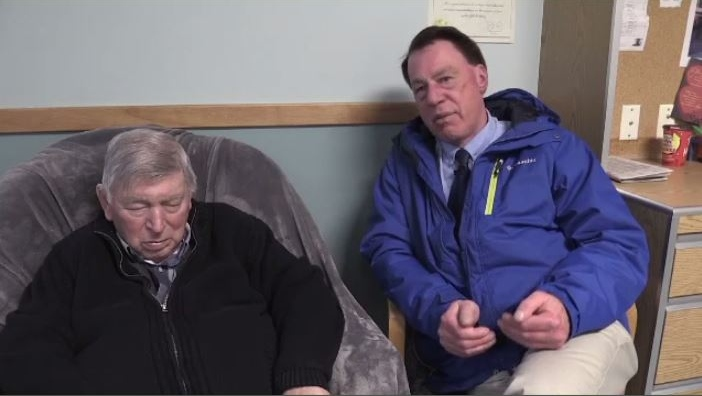 """""""Hopefully, they'll be able to settle things sooner in the future, instead of kicking things down the road,"""" said Rick Mantle, who is visiting his 86-year-old father Tom."""