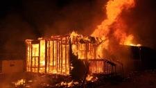 Chapel Island fire