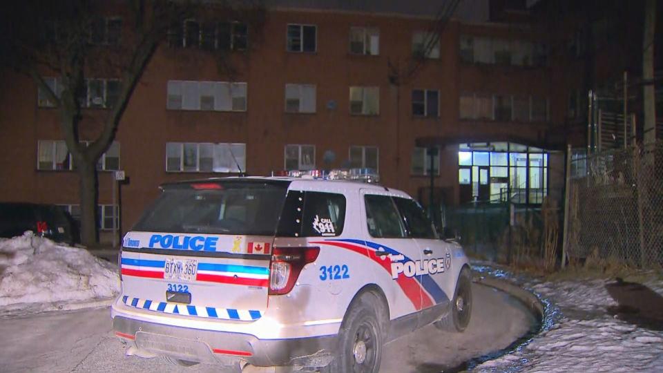 Toronto police investigate a shooting on Dorado Court Tuesday March 12, 2019.