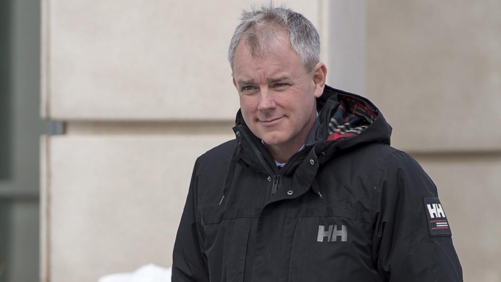 Dennis Oland in Saint John, N.B.