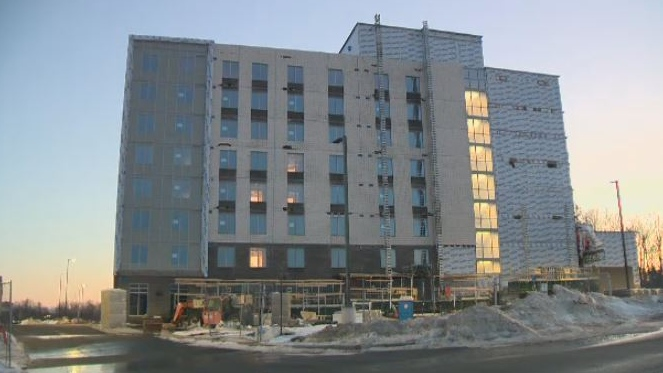 Man injured in workplace accident at Dartmouth Crossing hotel site