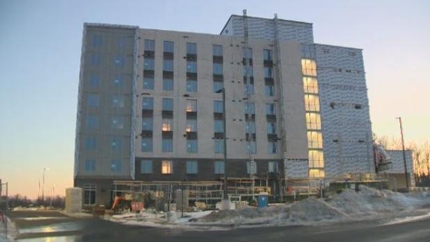 Dartmouth Crossing construction site